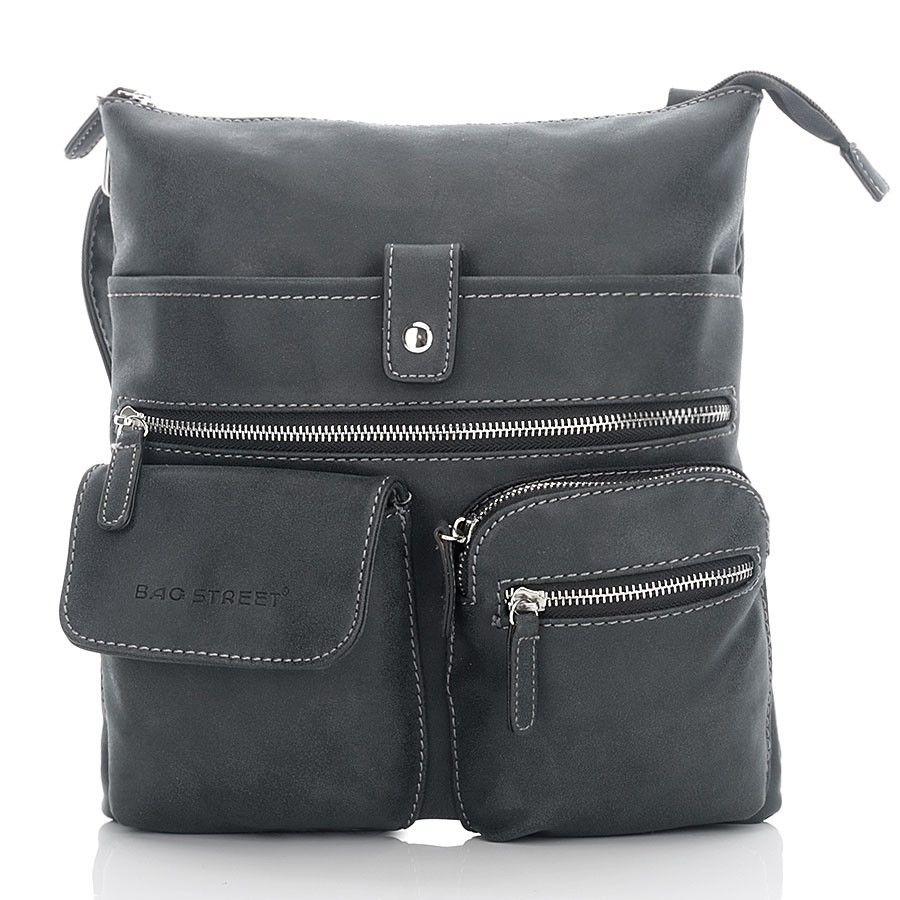 6c300292e4007 Czarna torebka damska w stylu Vintage raportówka listonoszka czarny ...