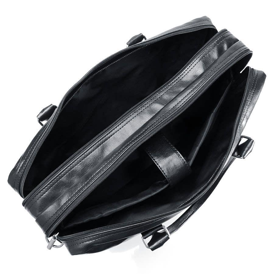 Elegancka torba codzienna / na laptopa czarna