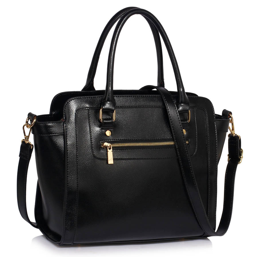 23c7749e Klasyczna czarna torebka damska czarny | Sklep internetowy Evangarda.pl