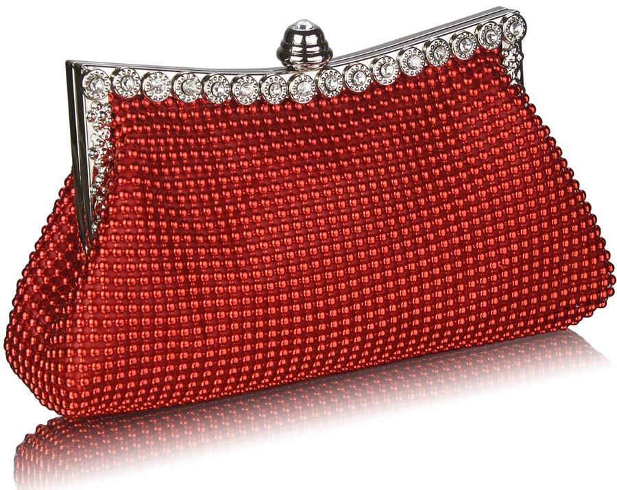 0a0f4b8481ccc ... Zachwycająca czerwona torebka wizytowa z koralików Kliknij
